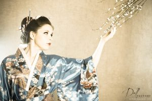 Marie - shooting Geisha