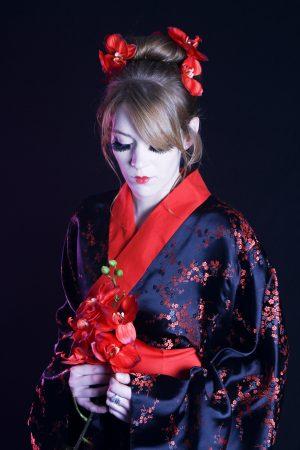 Pauline - shooting Geisha