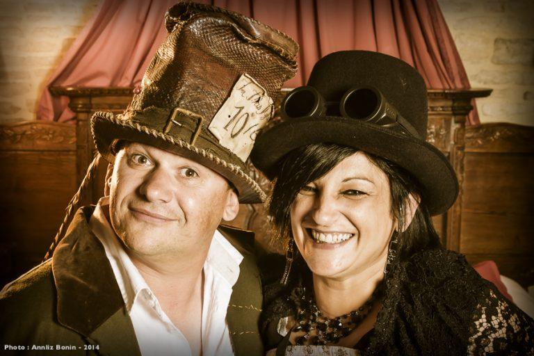 Journée Steampunk à la Rançonnière – Photographe événementiel Calvados