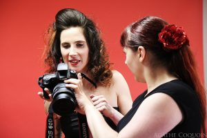 backstage shooting pin-up chez Diplopie