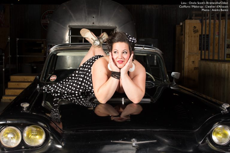 Shooting pin-up chez Oncle Scott's