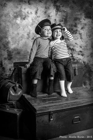 "Simon & Mathilde - shooting ""navy"""
