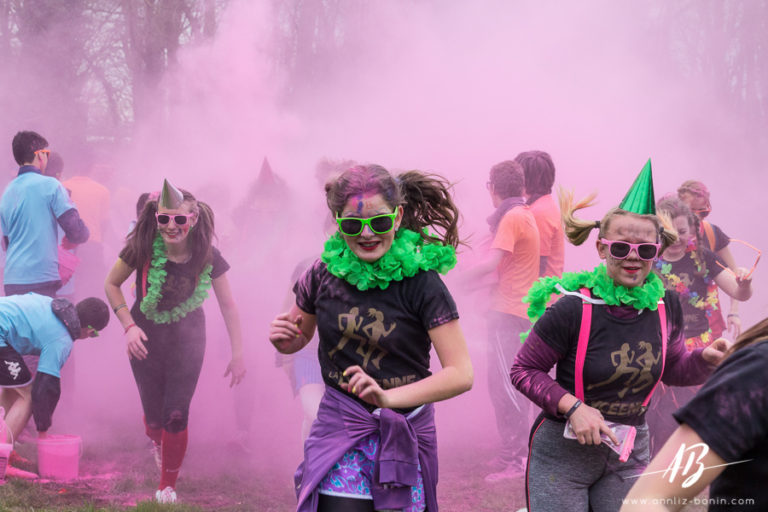 Maïf Color-run – photo événementielle, reportage photo en normandie