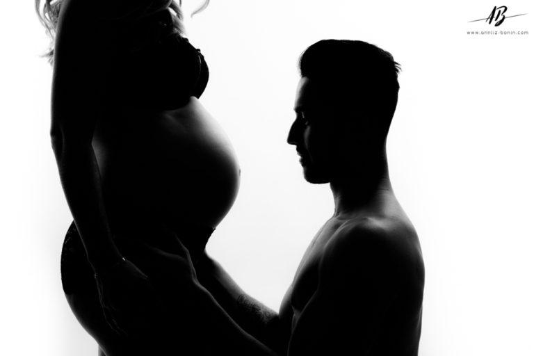 Laura et Nicolas – séance photo grossesse à Caen