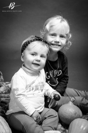 photo famille en studio