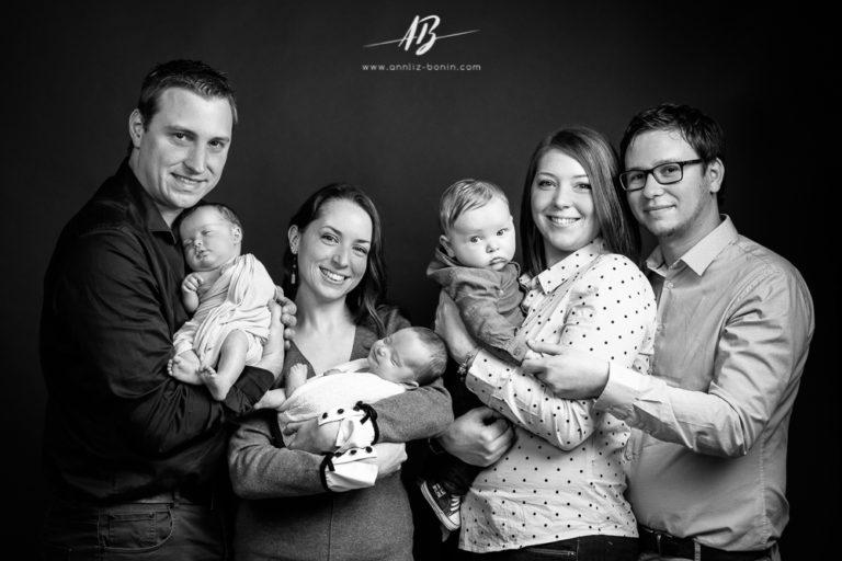 Le cadeau de Noël idéal – photos de famille en studio à Caen