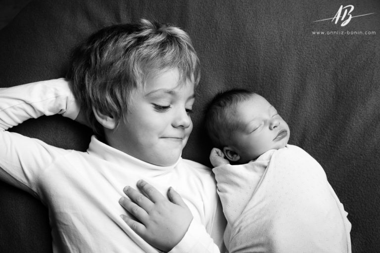 Suzie – séance photo de naissance à Caen