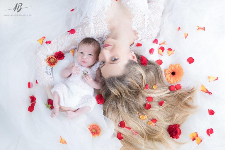 Lyam, 1er bébé 2019 ! – photo de naissance en studio à Caen