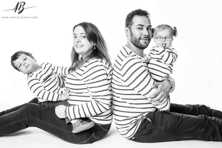 En famille ! – séance photo en studio à Caen