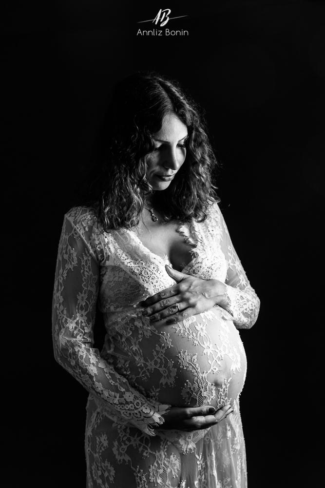 Laurie – photo de grossesse en Normandie