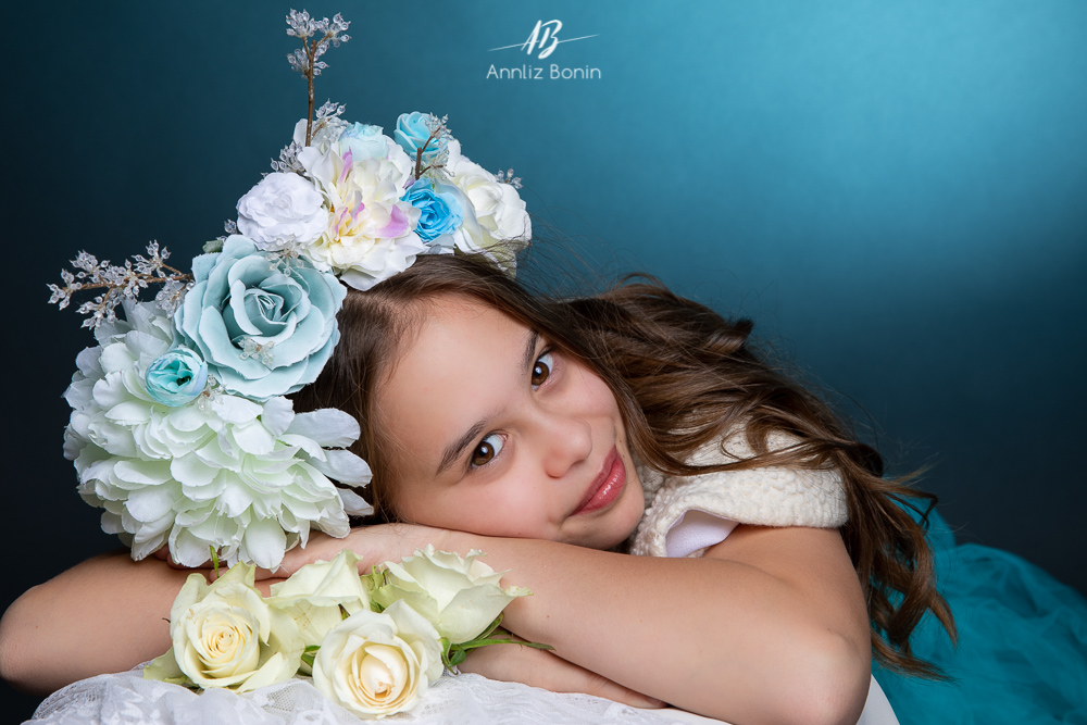 Malia et Lily – photos d'enfants en studio