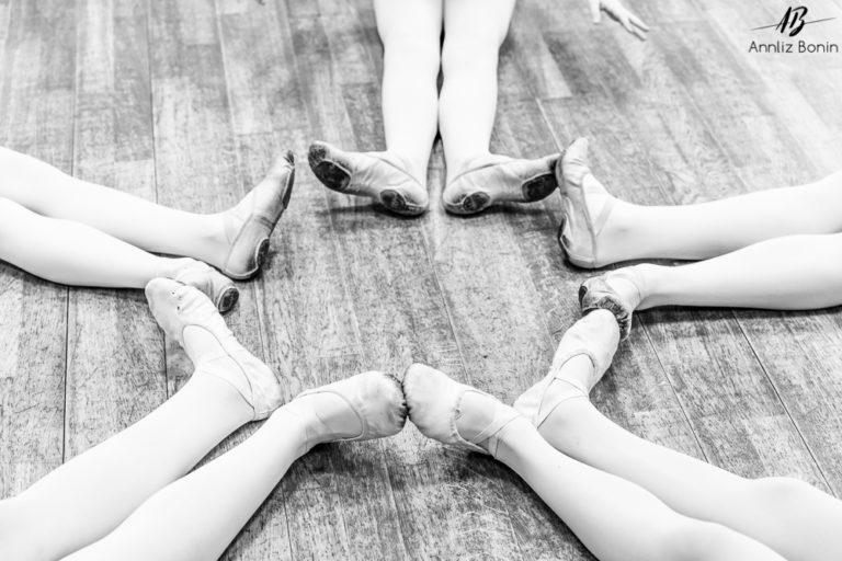 Reportage photo école de danse Sophie Berra