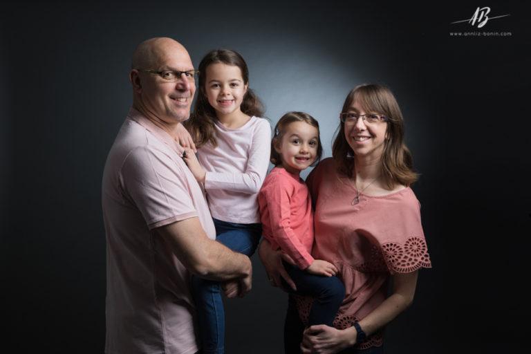Séance photo en famille !