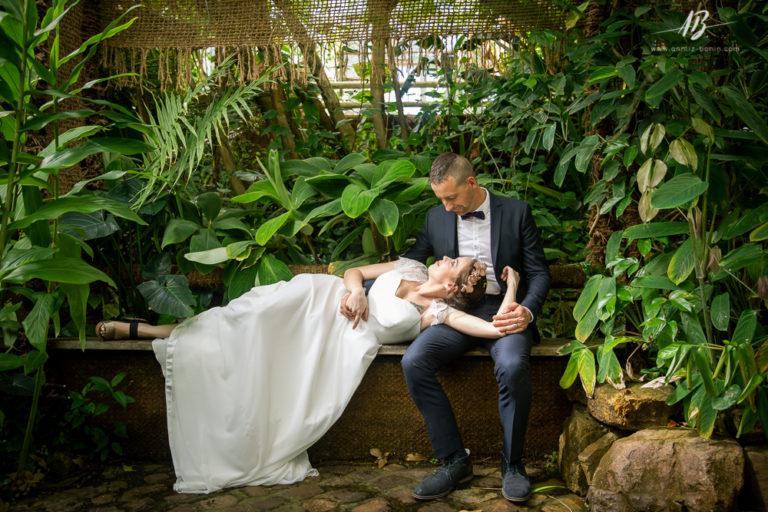 Séance mariage au Jardin des Plantes