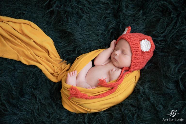 Séance photo naissance pour Viktor