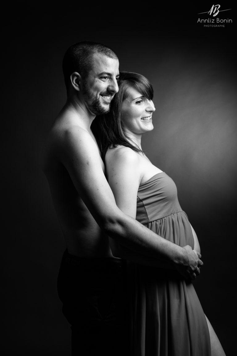 Séance grossesse avec Margerie et Alex