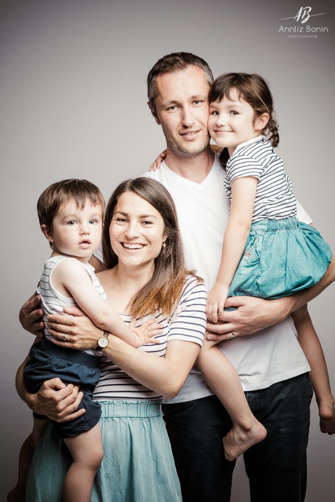 Au Studio des photos en famille